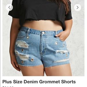 42393d5d5bb Forever 21 Shorts - Forever21 Shorts High Waist   Plus size
